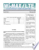 WiMAX Monthly Newsletter February 2010
