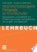 Geschlechtsbezogene Pädagogik and Grundschulen