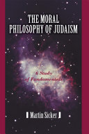 The Moral Philosophy of Judaism