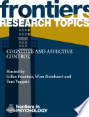 Cognitive and affective control