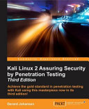 Kali Linux 2 Assuring Security By Penetration Testing