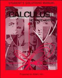 Calculus with Analytic Geometry, Brief Edition, Student Solution Manual