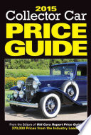 2015 Collecter Car Price Guide