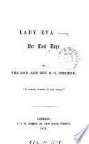 Lady Eva Her Last Days Verse