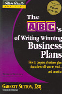 The ABC s of Writing Winning Business Plans