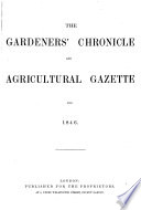 The Gardeners  Chronicle and Agricultural Gazette
