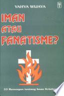 Iman Atau Fanatisme