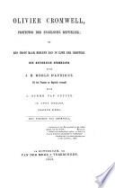 Olivier Cromwell, protector der Engelsche republiek of Een groot man in zijn eer hersteld