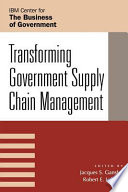 Transforming Government Supply Chain Management
