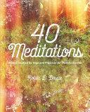 40 Meditations Book PDF