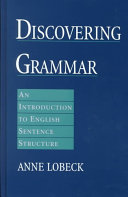 Discovering Grammar