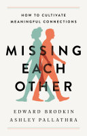 Missing Each Other Book PDF