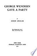 George Wendern Gave a Party Book PDF