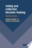 Voting And Collective Decision Making