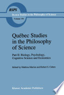Qu  bec Studies in the Philosophy of Science