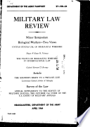 Militarty Law Review