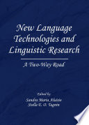 New Language Technologies and Linguistic Research