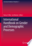 International Handbook on Gender and Demographic Processes