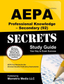 AEPA Professional Knowledge   Secondary  92  Secrets Study Guide