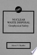 Nuclear Waste Disposal book