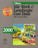 RSMeans Site Work   Landscape Cost Data  2000