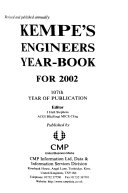 Kempe s Engineers Yearbook