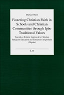 download ebook fostering christian faith in schools and christian communities through igbo traditional values pdf epub
