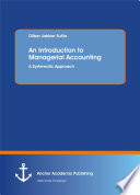An Introduction to Managerial Accounting