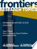 Probing auditory scene analysis