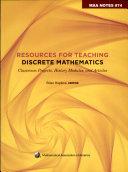 Resources for Teaching Discrete Mathematics