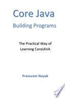Core Java Building Programs