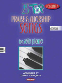 25 Top Praise Worship Songs For Solo Piano book