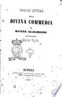 Parafrasi letterale della divina commedia di Dante Alighieri del sacerdote Cristoforo Coppola