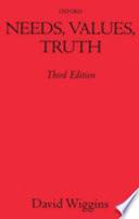Needs  Values  Truth