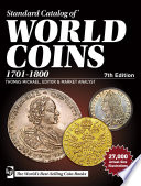 Standard Catalog of World Coins  1701 1800