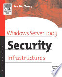 illustration Windows Server 2003 Security Infrastructures