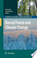 Boreal Forest And Climate Change book