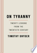 On Tyranny Book Cover