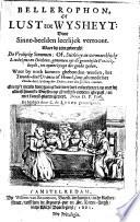 Bellerophon Of Lust Tot Wysheyt