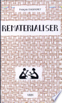 illustration du livre Rematérialiser