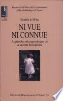 illustration du livre Ni vue, ni connue