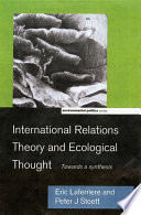 International Relations Theory and Ecological Thought