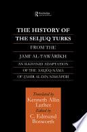 The History of the Seljuq Turks