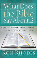 download ebook what does the bible say about...? pdf epub