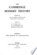 The Cambridge Modern History