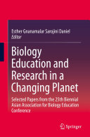 download ebook biology education and research in a changing planet pdf epub