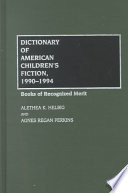 Dictionary of American Children s Fiction  1990 1994