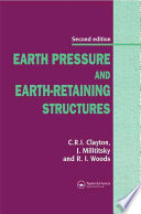 Earth Pressure And Earth Retaining Structures Second Edition