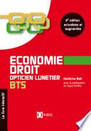 Economie Droit Opticien Lunetier BTS 2e   dition
