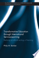 Transformative Education Through International Service Learning